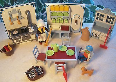 Playmobil Vintage Victorian Kitchen Set 5322 Retired | eBay I was a little obsessed with playmobile!
