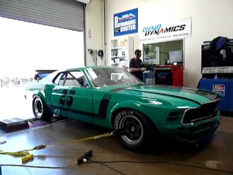 71 best boss 302 mustangs images on pinterest mustang mustangs 1970 mustang historic trans am race car with boss 302 on jba chassis dyno laying down sciox Gallery