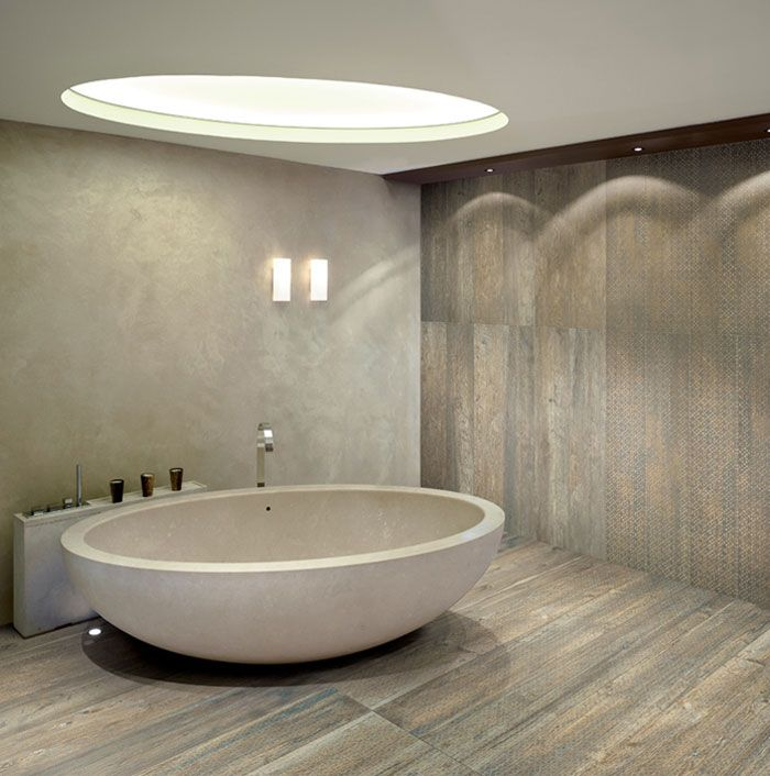 cost of tile for bathroom floor%0A bathtub is awesome with skylight    Porcelain TilesCeramic Floor