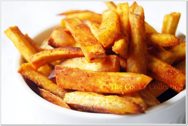 Sweet Potato Fries....how can food so scrumptious be healthy??? Fry in ...