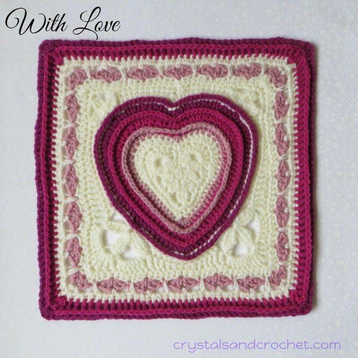 Mejores 57 imágenes de Valentine\'s Day Crochet Patterns en Pinterest ...