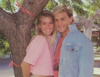 """The 1988 """"Best Looking"""" seniors at Westminster High School in Westminster, California.    #1988 #BestLooking #yearbook #Westminster"""