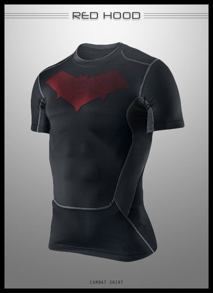 Red Hood Combat Shirt by seventhirtytwo on DeviantArt