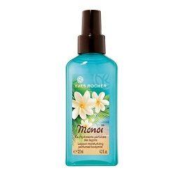L'Eau Hydratante Parfumée des Lagon Monoi de Yves Rocher Les eaux de toilette qu'on adore porter l'été #parfum #eaudetoilette #yvesrocher #monoi #beauté #monvanityideal