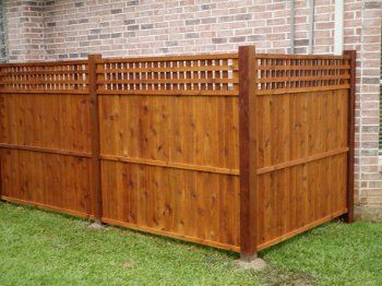 Cedar panels around pool equipment. Solid Utility Fence Panels (Custom Sizing)