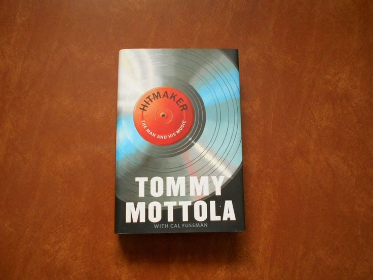 Tommy Mottola Hitmaker The Man and His Music Hard Cover Book New