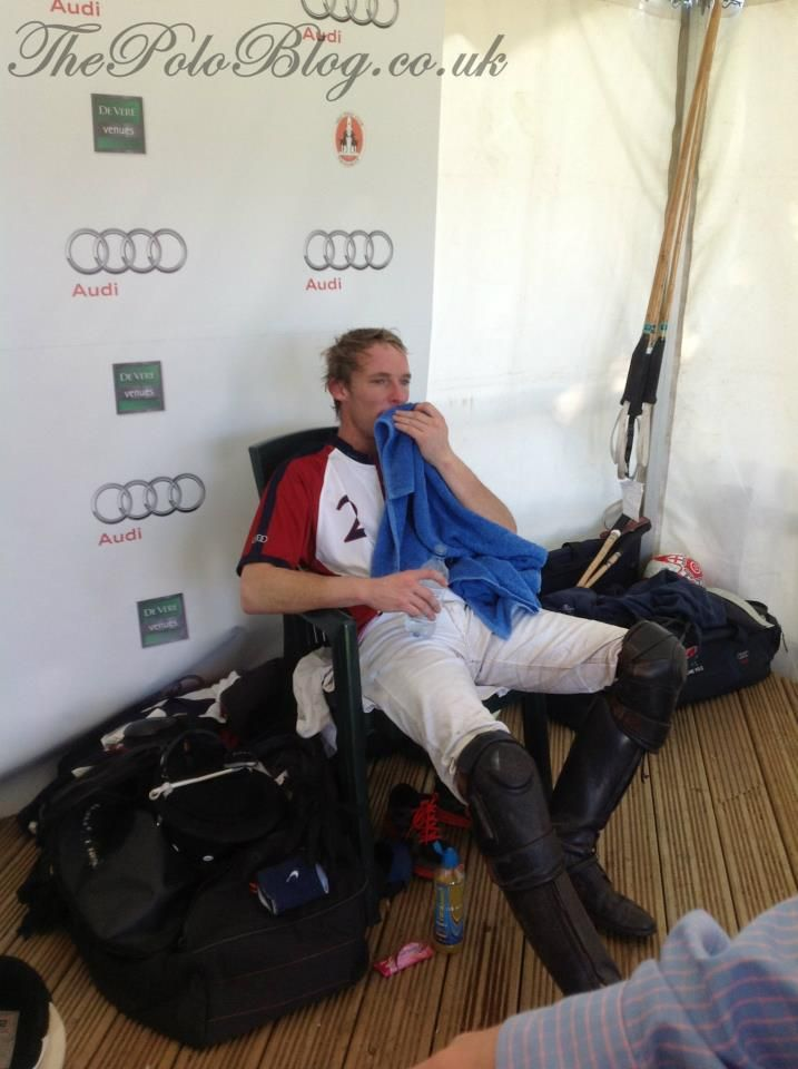 Mark Tomlinson from England - born into a family of polo players in Gloucestershire. One of the best players England has produced.