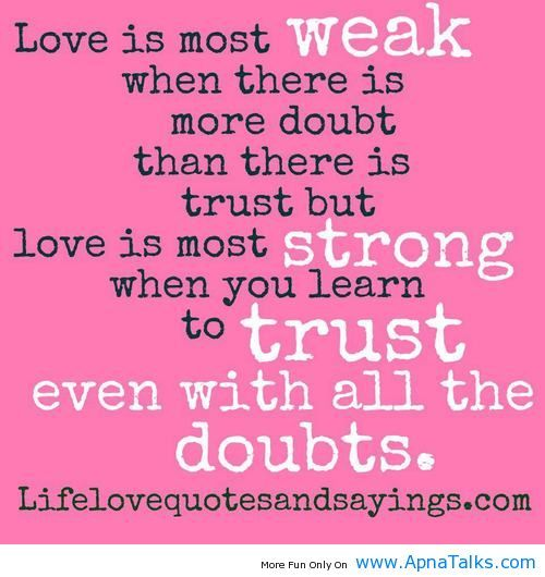 Trusting Relationship Quotes: Learning To Trust Again Quotes. QuotesGram
