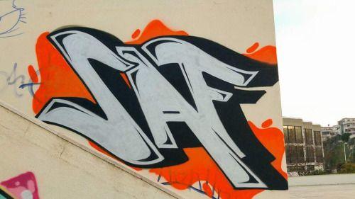 #idea #saf #graffiti #art #arte #Street #Cagliari #sardegna #Sardinia #artist #colours #walls #cus #università #writing #hiphop #spraycan #colorful #powerful #cap #ingegneria #Nuoro #paint #sportsfacility #impiantosportivo #silver #style