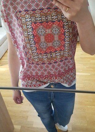 Kup mój przedmiot na #vintedpl http://www.vinted.pl/damska-odziez/koszulki-z-krotkim-rekawem-t-shirty/17742555-bluzka-promod-koszulka-etno-folk-print
