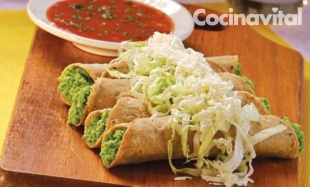 tacos de chícharo