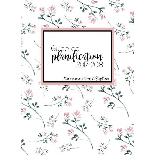 Guide de planification 2017-2018 FLEURI