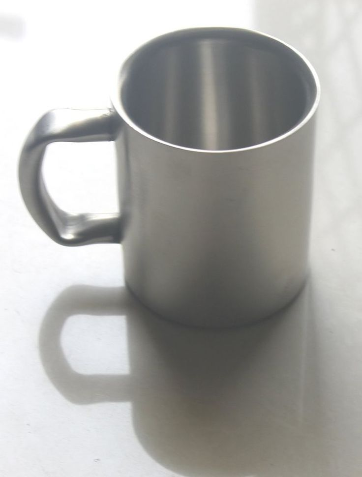 Double Wall Stainless Steel Coffee Mugs Beer Mugs Cappuccino Cups Tea Cup  #VisvabhavanahMart