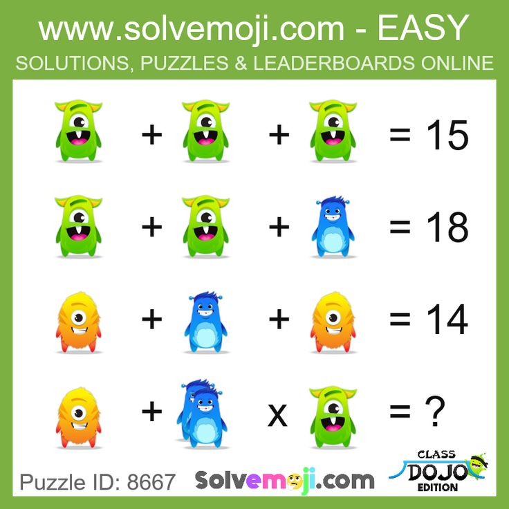 FREE Solve these emoji puzzles in 5 levels of difficulties. Join the leaderboard if you wish.