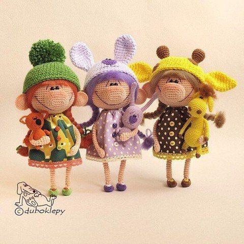 Amigurumi Viking Pattern : 230 best images about crochet / dolls on Pinterest Girl ...