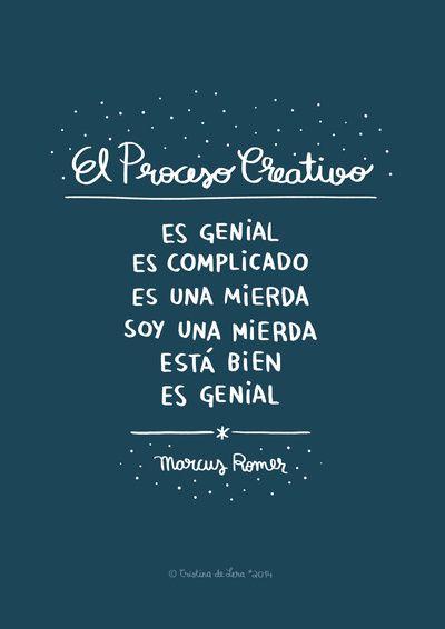 """""""El proceso creativo"""" by Cristina De Lera."""
