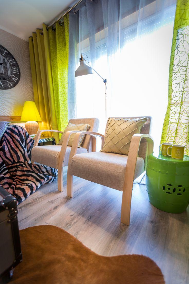Paulo Piteira | Sala de Estar | Living Room | Animal Print | Animal Skin Rug | Chairs | Garden Stool | Home | Interior | Design