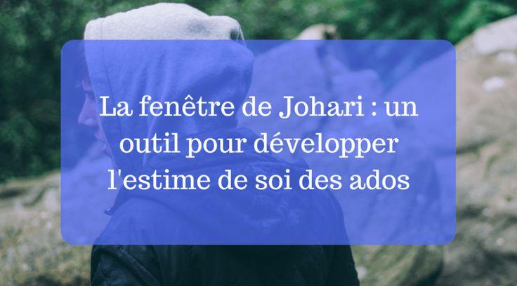 103 best p dagogie positive images on pinterest positive for Fenetre de johari