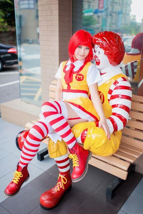 Female Ronald McDonald