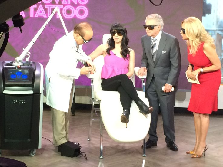 Great to be on TODAY Show last week! Dr. White at Carolina Laser & Cosmetic Center offers the PicoSure laser for tattoo removal. Call today to schedule your appointment! 336-659-2663