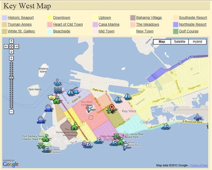 Map Key West Florida.Pin By Maggie On Key West Florida Keys Pinterest Key West
