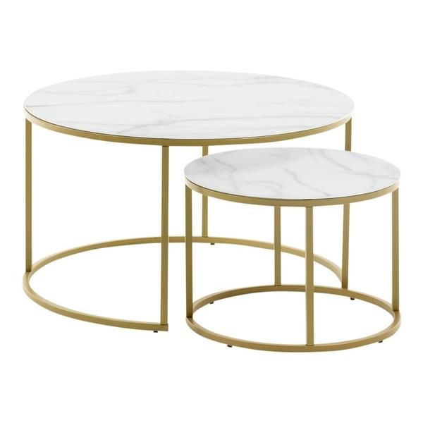 Best Leonor Side Tables Set Of 2 In 2020 Kave Home Table 400 x 300