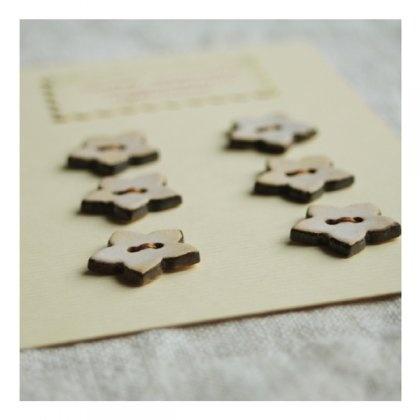ceramiczne guziki // ceramic buttons // jasne (proj. Karolina Gletkier)