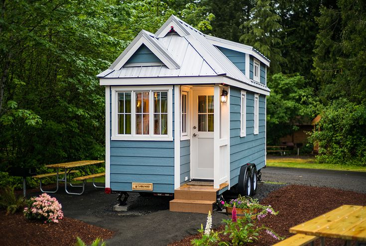 The tiny house trend is an up-and-coming lifestyle that promotes the benefits of downsizing and reducing one's footprint and home maintenance commitments. Although there are currently no set definitions for what can be described as a 'tiny house,' such tiny houses are usually residences under the si