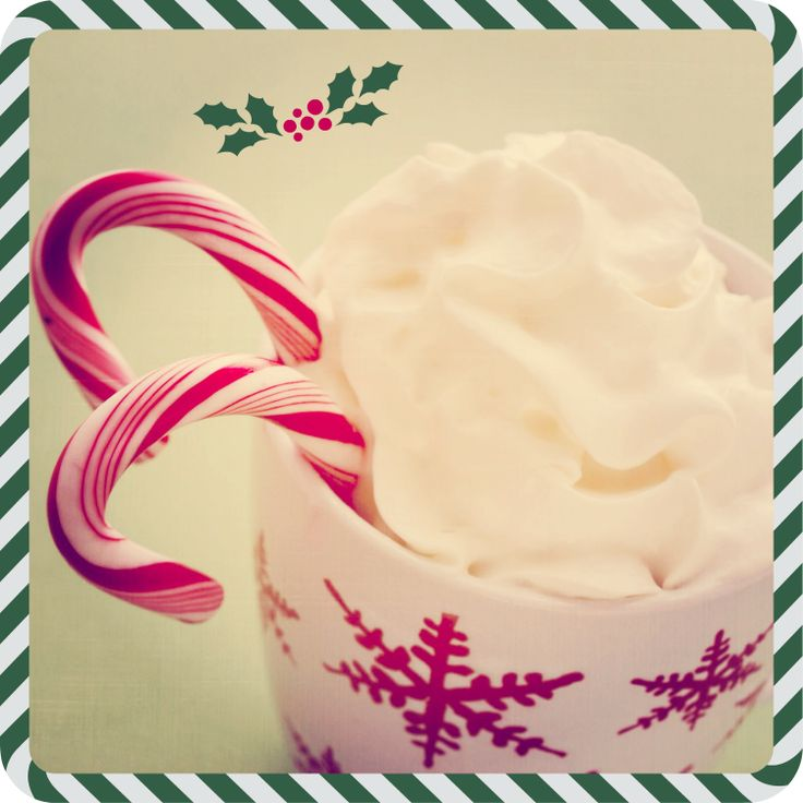 Cioccolata calda, Panna, Tazza, Rosso, Neve, Natale