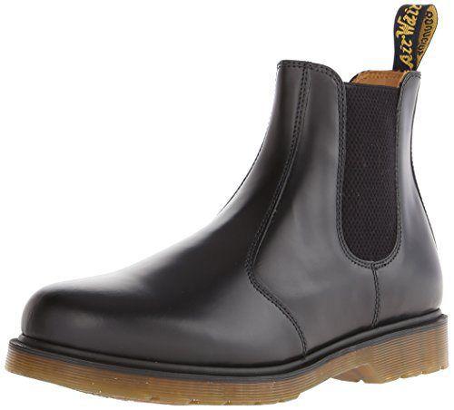 Dr. Martens 2976 Chelsea Boot,Black Smooth,4 UK (Women's 6 M US/Men's 5 M US) - http://authenticboots.com/dr-martens-2976-chelsea-bootblack-smooth4-uk-womens-6-m-usmens-5-m-us/