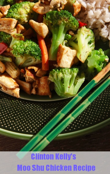 The Chew: Clinton Kelly's Moo Shu Chicken Recipe #PerfectTablegate