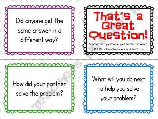 Math critical thinking questions