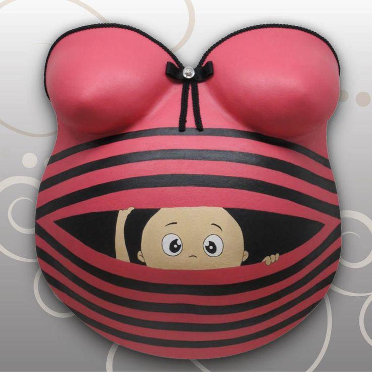 Babybauch-Gipsabdruck Baby-Umstandsshirt- Design Ivana Irmscher Be happy Gipsabdruck Fürth, www.be-happy-gipsabdruck.de