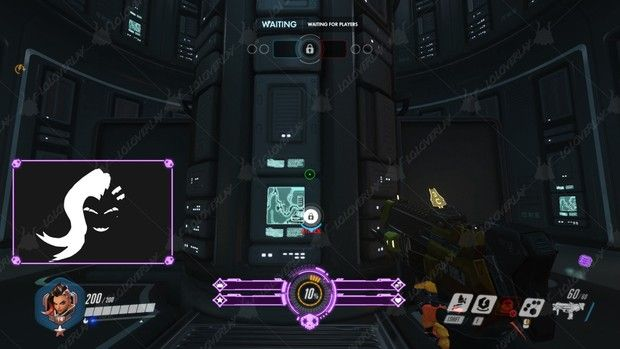 Minimalist Sombra Stream Overlay Overlays Streaming Photoshop Overwatch map background hd 1280x720