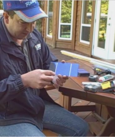 Solar Power : Step by Step Plans - Building Solar Panels For Home Use