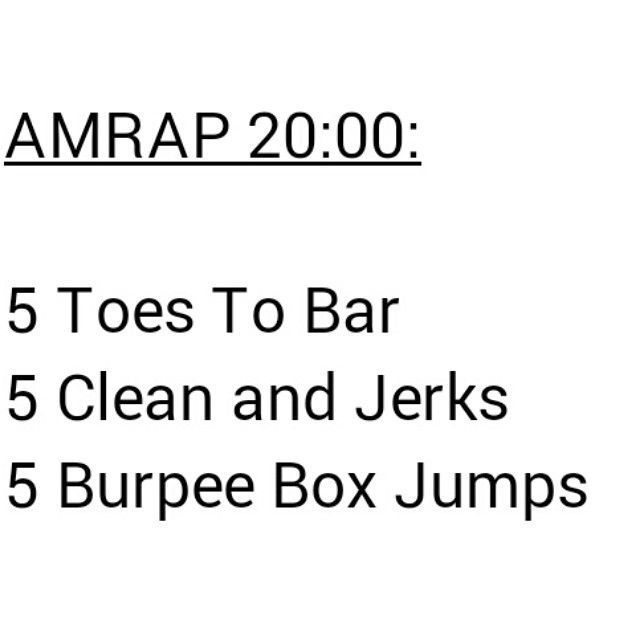 Deffs Gonna Try This WOD!
