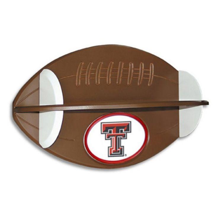 Fan Creations Collegiate Football Shelf - C0502_TEXAS TECH