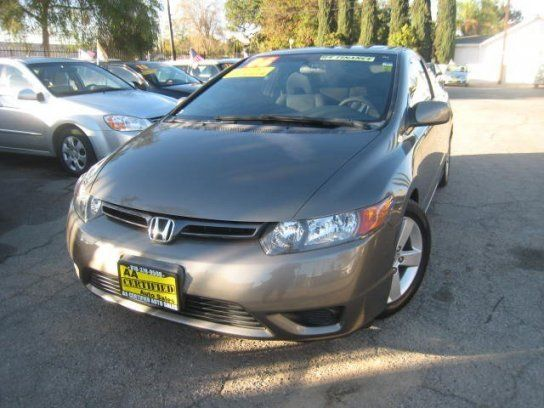 Coupe, 2006 Honda Civic EX Coupe with 2 Door in North Hollywood, CA (91601)