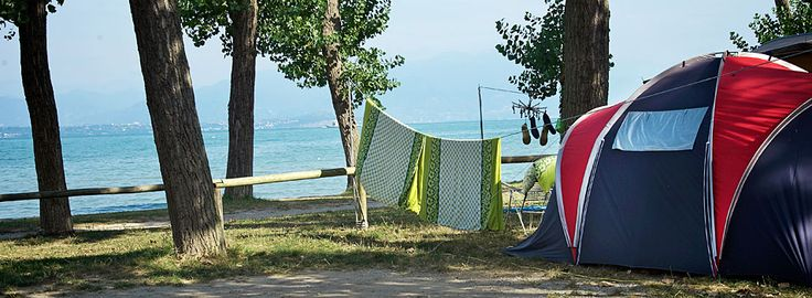 Camping San Francesco Desenzano del Garda, Gardasee, Italien