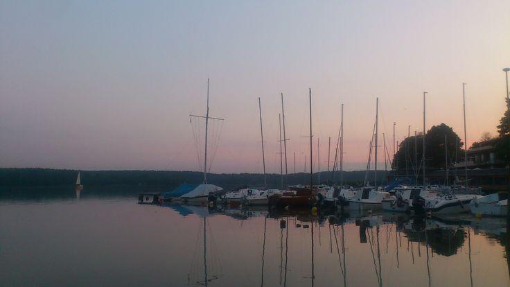 Jezioro Ukiel (Krzywe) in Olsztyn, woj. warmińsko-mazurskie
