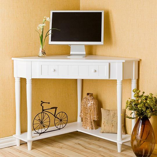 best 25 small corner desk ideas only on pinterest corner desk white corner desk and small. Black Bedroom Furniture Sets. Home Design Ideas
