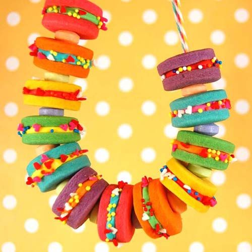 How to Make an Edible Cookie Necklace ~ The Beading Gem's Journal More