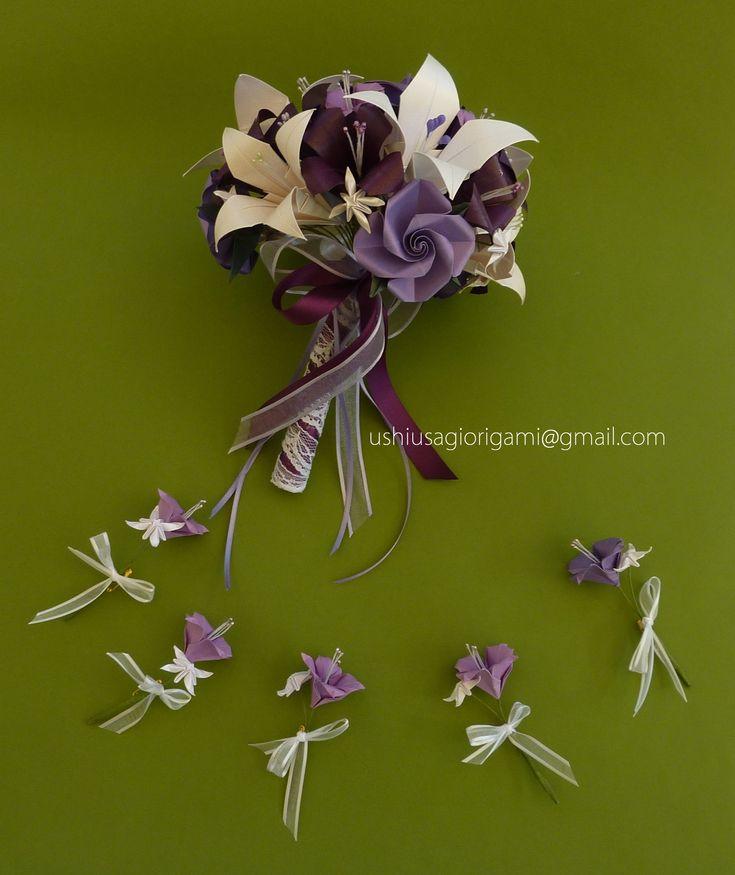 Ushi Usagi Ramos de novia origami cursos Buenos Aires | Bouquets realísticos