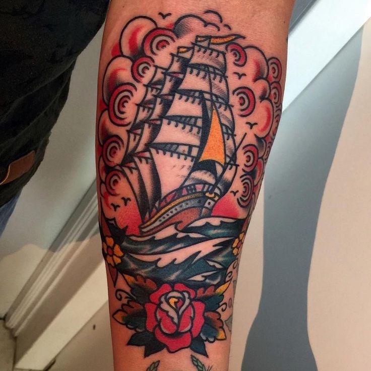 Nautical Tattoo Poseidon And Ship: 34 Best Tattoo Ideas Images On Pinterest