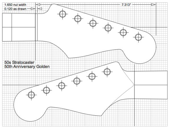171 best images about guitar plans on pinterest forum for Stratocaster headstock template