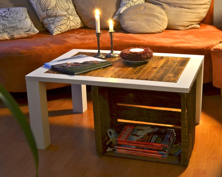 1000 ideas about crate coffee tables on pinterest wine. Black Bedroom Furniture Sets. Home Design Ideas