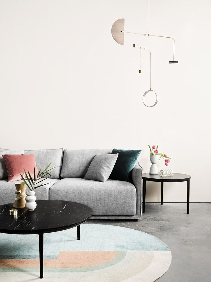 Introducing Australian design brand SP01 - minimal design - contemporary furniture - minimal grey sofa