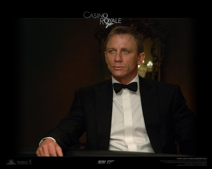 Casino Royale (2006) Armed with a license to kill, Secret Agent James Bond sets out on his first mission as 007 and must defeat a weapons dealer in a high stakes game of poker at Casino Royale, but things are not what they seem. Dir: Martin Campbell With: Daniel Craig, Eva Green, Judi Dench