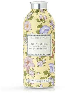 Summer Hill ® Talc-Free Body Powder | Bath & Body | Body Washes & Cleansers | Body Powders | Crabtree & Evelyn