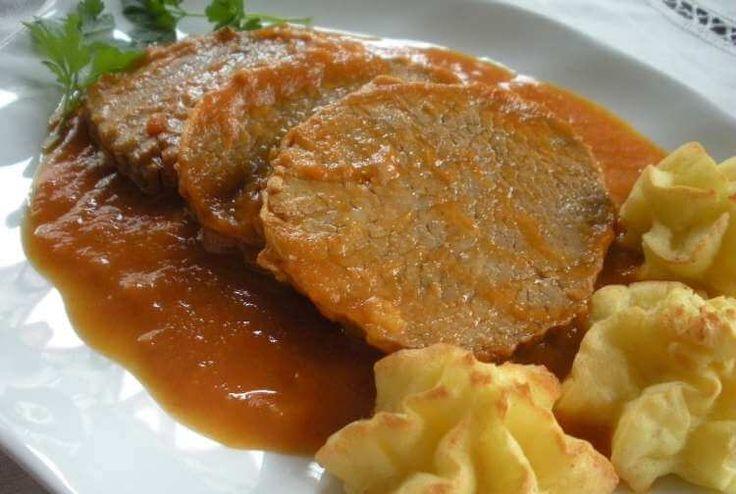 Bistec de ternera en salsa Thermomix
